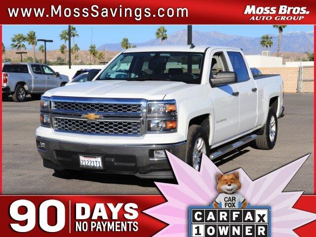 2014 Chevrolet Silverado 1500 LT 2WD Crew Cab 153.0″ LT w/1LT Gas/Ethanol V8 5.3L/325 [3]