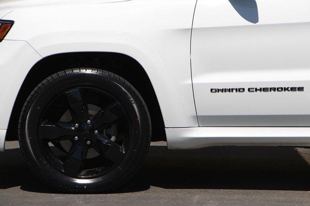 2016 Jeep Grand Cherokee High Altitude 9