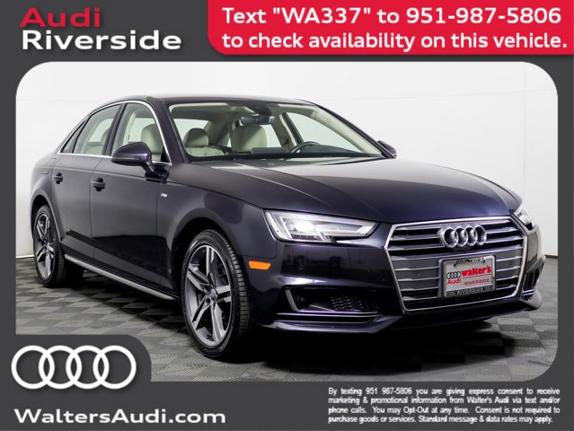 2018 Audi A4 Prestige 2.0 TFSI ultra Prestige S Tronic FWD Intercooled Turbo Premium Unleaded I-4 2.0 L/121 [3]