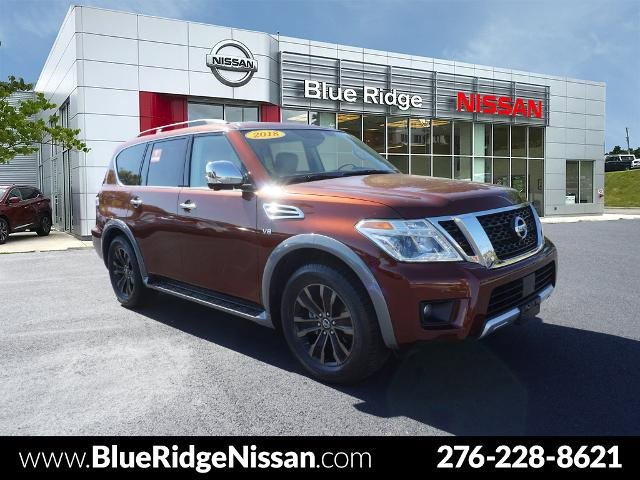 2018 Nissan Armada Platinum 4x4 Platinum Regular Unleaded V-8 5.6 L/339 [1]