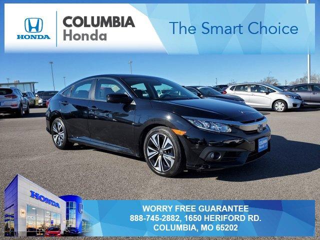 Used 2017 Honda Civic Sedan in Columbia, MO