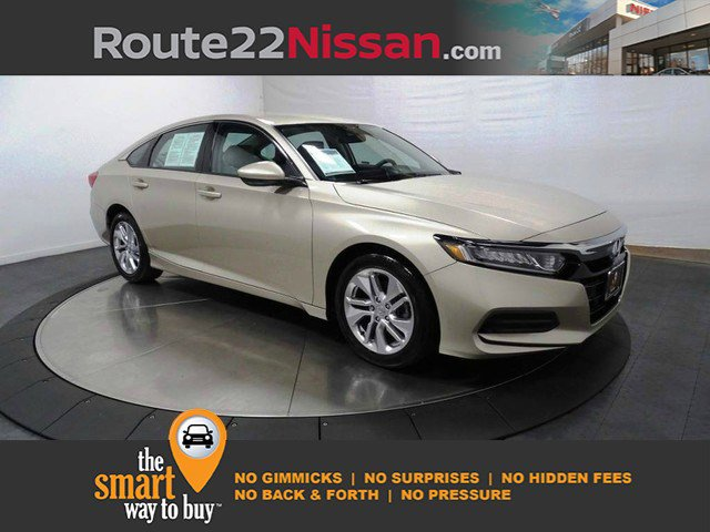 2019 Honda Accord Sedan LX 1.5T LX 1.5T CVT Intercooled Turbo Regular Unleaded I-4 1.5 L/91 [4]