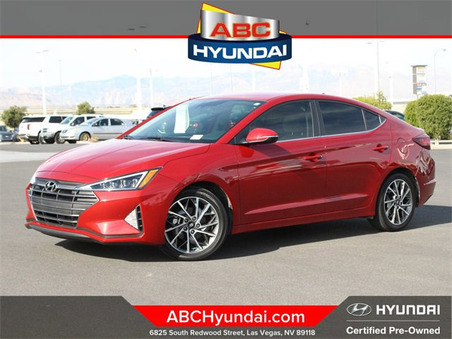 2020 Hyundai Elantra Limited Limited IVT Regular Unleaded I-4 2.0 L/122 [7]