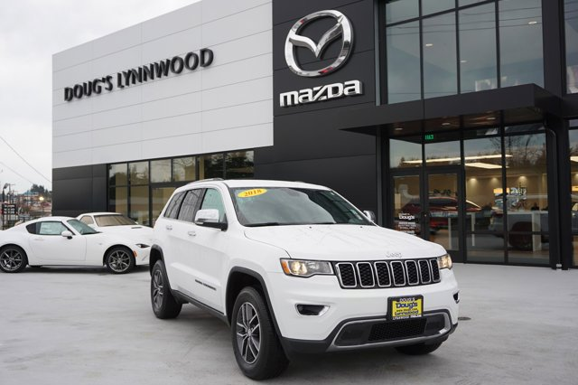 Used 2018 Jeep Grand Cherokee in Lynnwood Seattle Kirkland Everett, WA