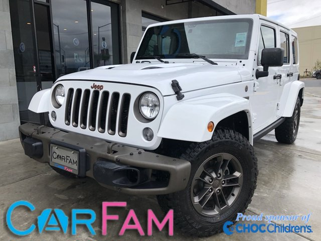 Used 2016 Jeep Wrangler Unlimited in Rialto, CA