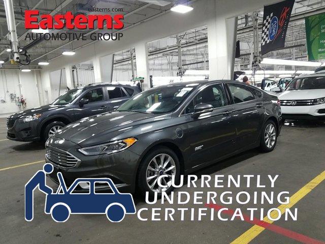 2017 Ford Fusion Energi Titanium 4dr Car