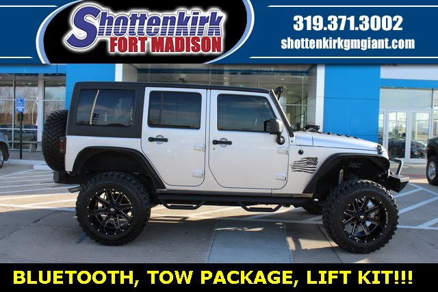 Used 2012 Jeep Wrangler Unlimited in Fort Madison, IA