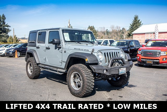 Used 2014 Jeep Wrangler Unlimited in Sumner, WA