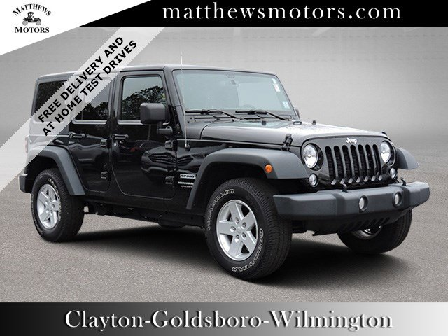 Used 2018 Jeep Wrangler JK Unlimited in Clayton , NC