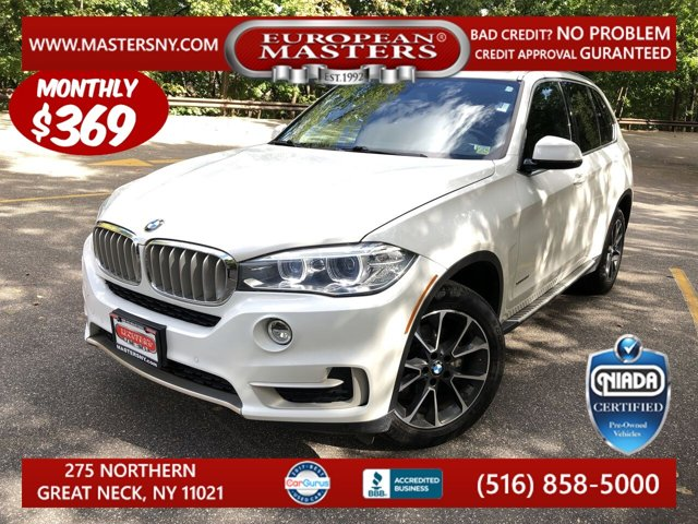 2017 BMW X5 xDrive35i Turbocharged All Wheel Drive Power Steering ABS 4-Whe