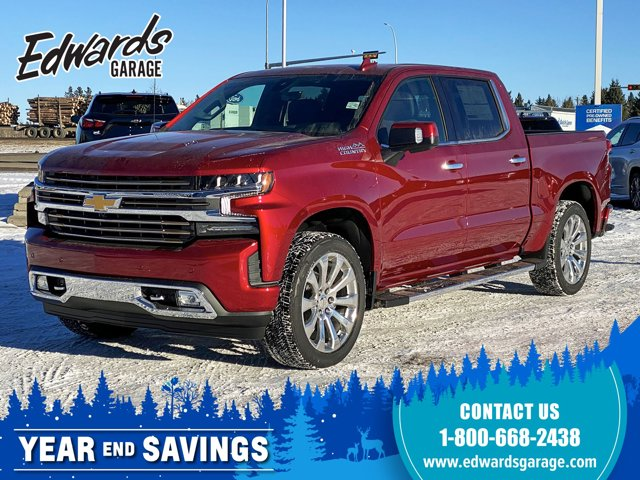2021 Chevrolet Silverado 1500 High Country Htd/Cld Lthr Sunroof 4WD Crew Cab 147″ High Country Gas V8 6.2L/376 [9]