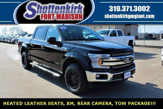 Used 2018 Ford F-150 in Fort Madison, IA