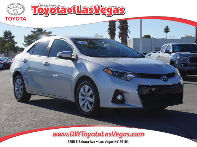 2016 Toyota Corolla S 4dr Sdn CVT S Regular Unleaded I-4 1.8 L/110 [1]