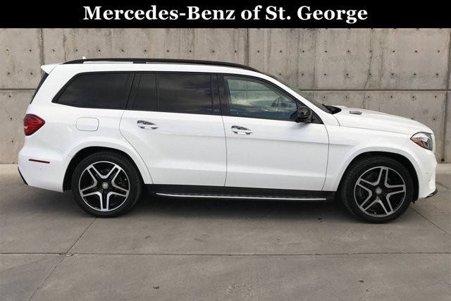 Used 2017 Mercedes-Benz GLS GLS 550 4MATIC SUV
