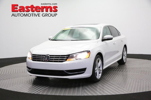 2015 Volkswagen Passat TDI SE Manual 4dr Car