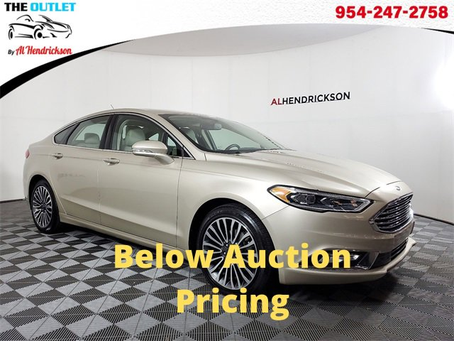 Used 2018 Ford Fusion in Coconut Creek, FL