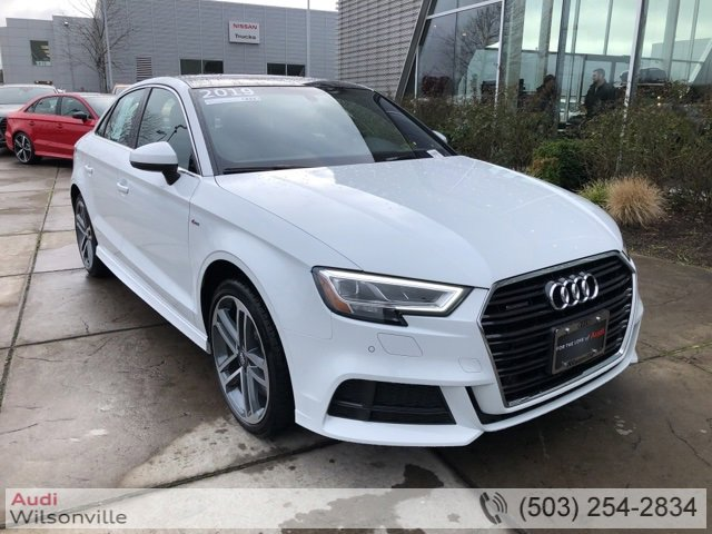 Used 2019 Audi A3 Sedan in , OR