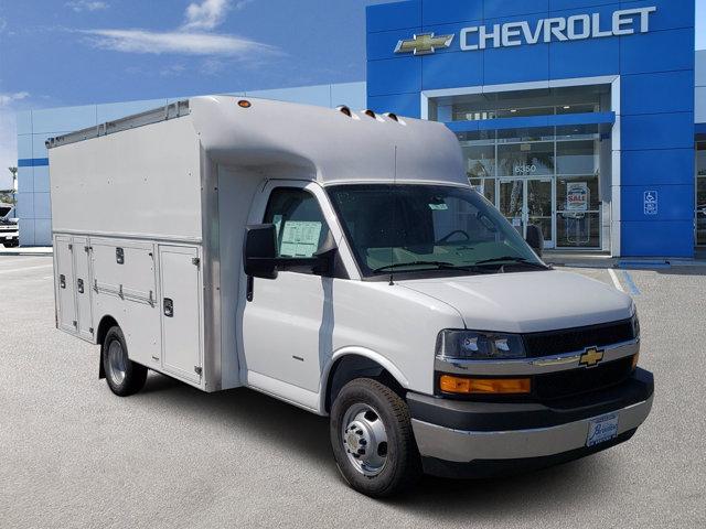 2020 Chevrolet Express Commercial Cutaway 3500 Van 139″ Gas V8 6.0L/364 [14]