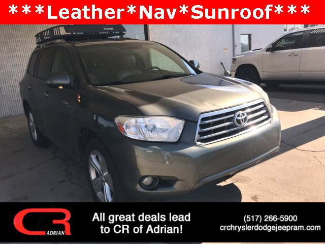 2008 Toyota Highlander Limited Traction Control Stability Control Traction Control Front Wheel D