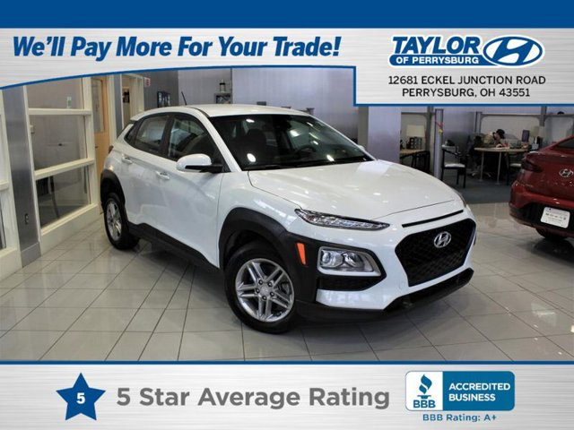 2019 Hyundai Kona SE CHALK WHITE BLACK  CLOTH SEAT TRIM OPTION GROUP 01 All