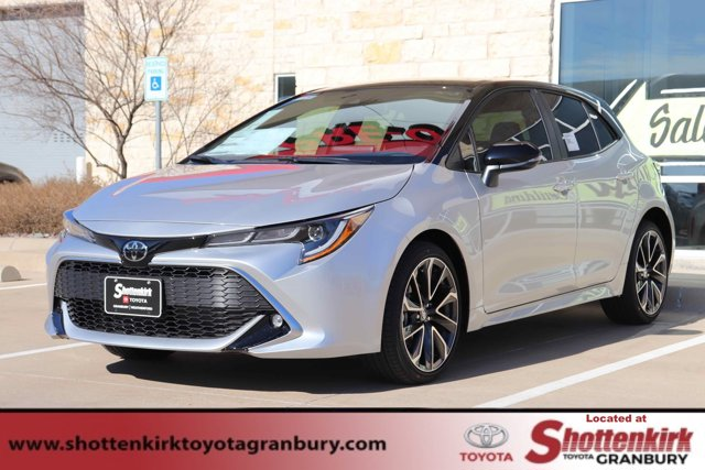 New 2020 Toyota Corolla Hatchback in Granbury, TX