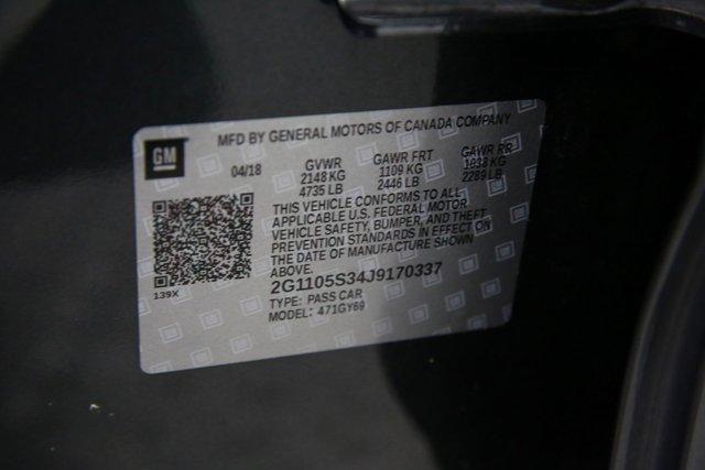 2018 Chevrolet Impala for sale 124071 30