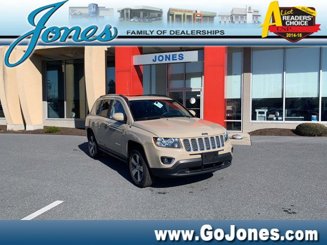 Used 2017 Jeep Compass High Altitude 4x4