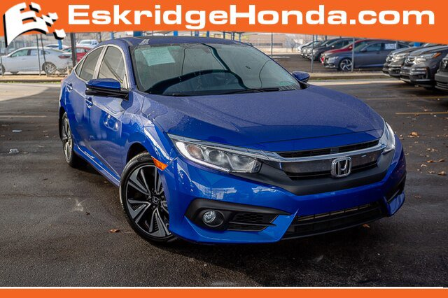 Used 2016 Honda Civic Sedan in Oklahoma City, OK