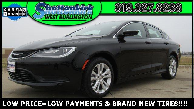 Used 2016 Chrysler 200 in West Burlington, IA