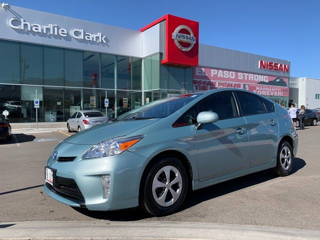 2012 Toyota Prius Four 5dr HB Four Gas/Electric I4 1.8L/110 [4]