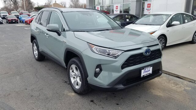 New 2020 Toyota RAV4 Hybrid in Greeley, CO
