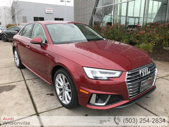 New 2019 Audi A4 in , OR