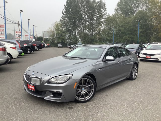 2014 BMW 6 Series 4dr Sdn 650i RWD Gran Coupe