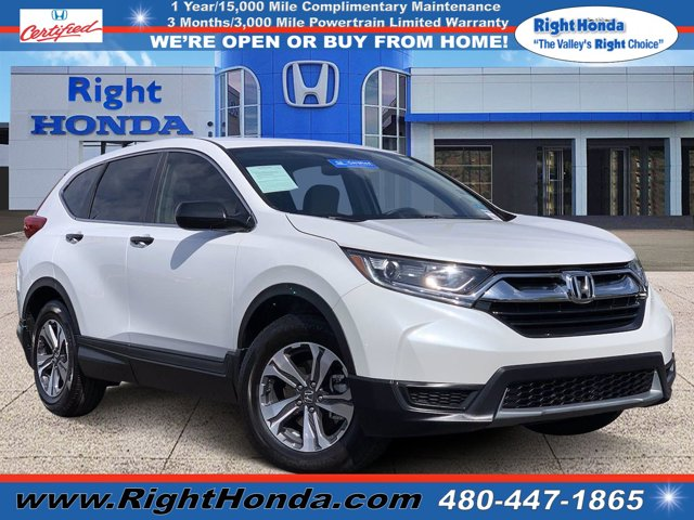 2019 Honda CR-V LX 2WD Regular Unleaded I-4 2.4 L/144 [16]