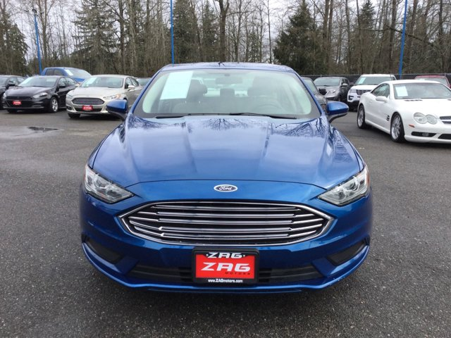 Used 2017 Ford Fusion SE FWD