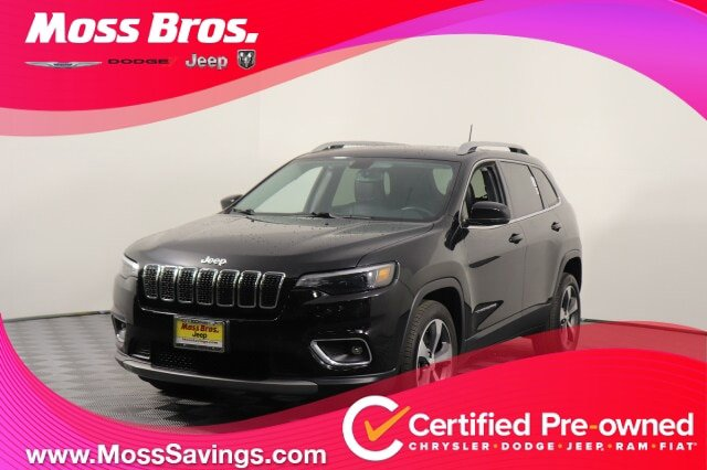2019 Jeep Cherokee Limited Limited FWD Regular Unleaded I-4 2.4 L/144 [12]