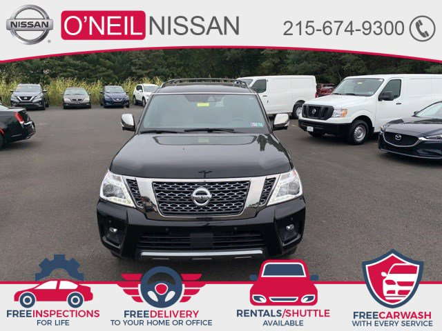 2018 Nissan Armada Platinum 4x4 Platinum Regular Unleaded V-8 5.6 L/339 [11]