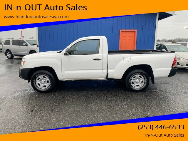 Used 2014 Toyota Tacoma Base 4x2 2dr Regular Cab 6.1 ft SB 4A
