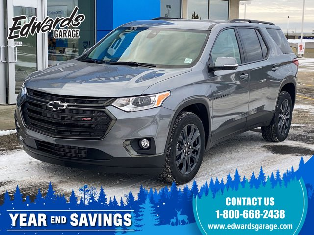2021 Chevrolet Traverse RS Htd Lthr Surround Vision Pwr Liftgate AWD 4dr RS Gas V6 3.6L/ [0]