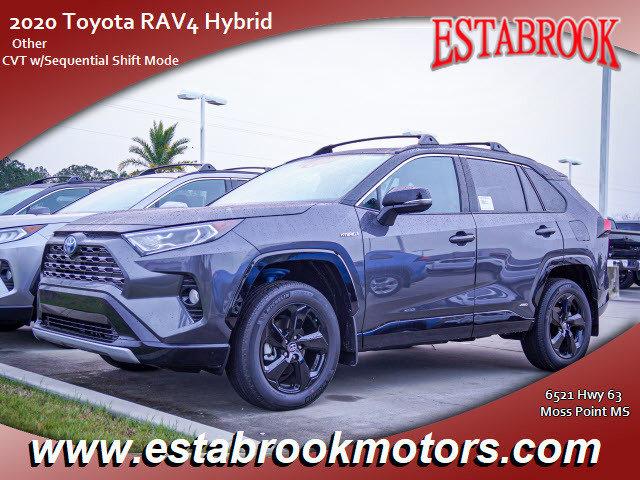 New 2020 Toyota RAV4 Hybrid in Moss Point, MS