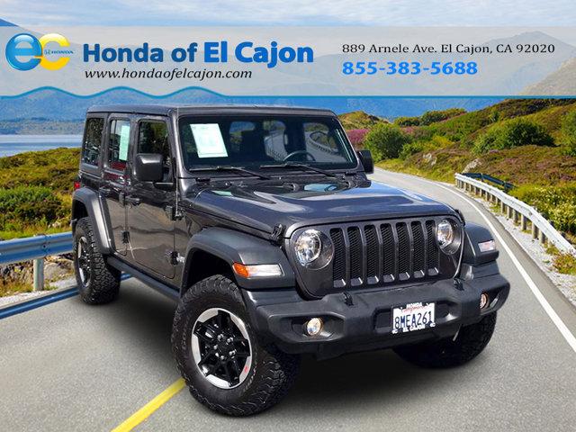 Used 2018 Jeep Wrangler Unlimited in El Cajon, CA