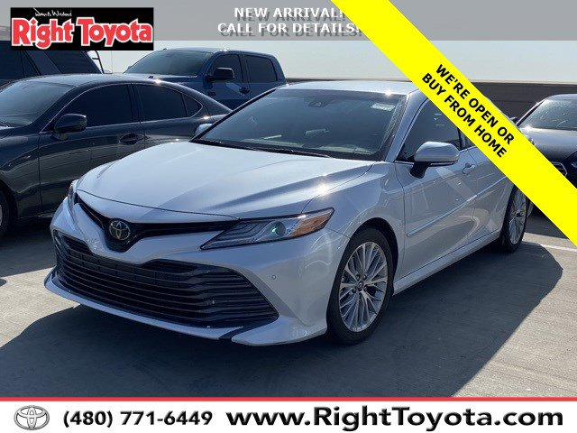 2018 Toyota Camry XLE XLE Auto Regular Unleaded I-4 2.5 L/152 [20]