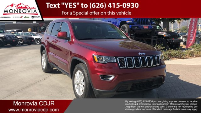 2018 Jeep Grand Cherokee Laredo E Laredo E 4x2 *Ltd Avail* Regular Unleaded V-6 3.6 L/220 [0]