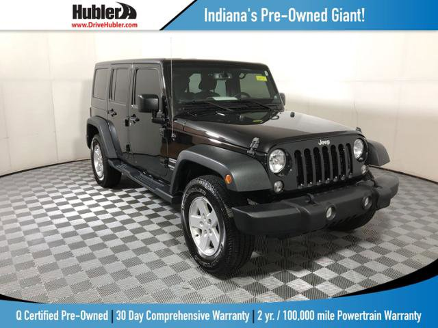 Used 2017 Jeep Wrangler Unlimited in Indianapolis, IN