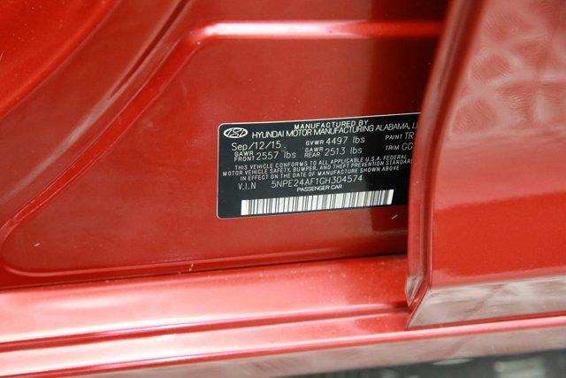 2016 Hyundai Sonata for sale 123415 31