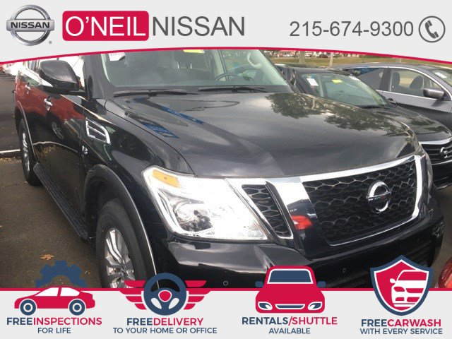 2019 Nissan Armada SV 4x4 SV Regular Unleaded V-8 5.6 L/339 [0]
