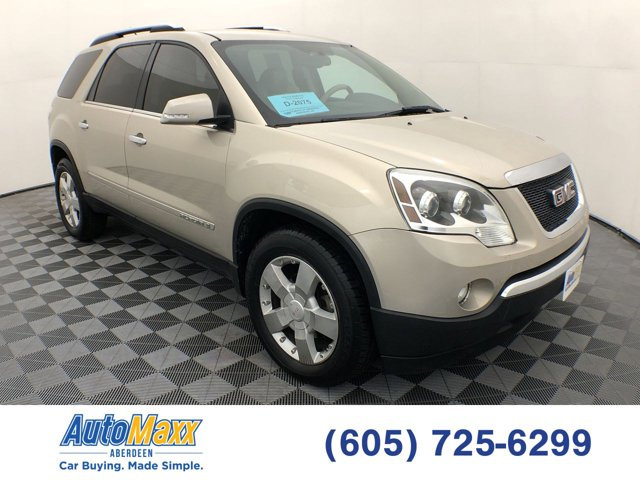 Used 2008 GMC Acadia in Lemmon, SD