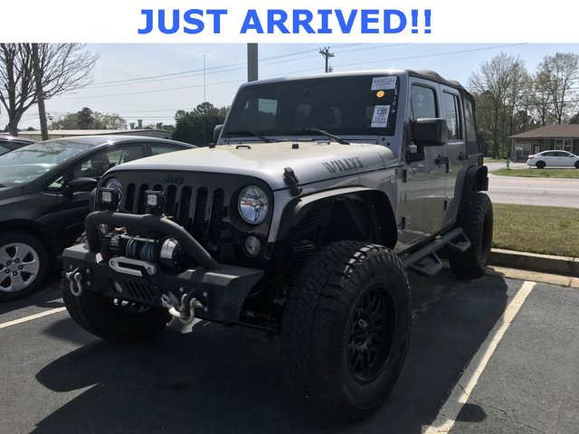 Used 2016 Jeep Wrangler Unlimited in Loganville, GA