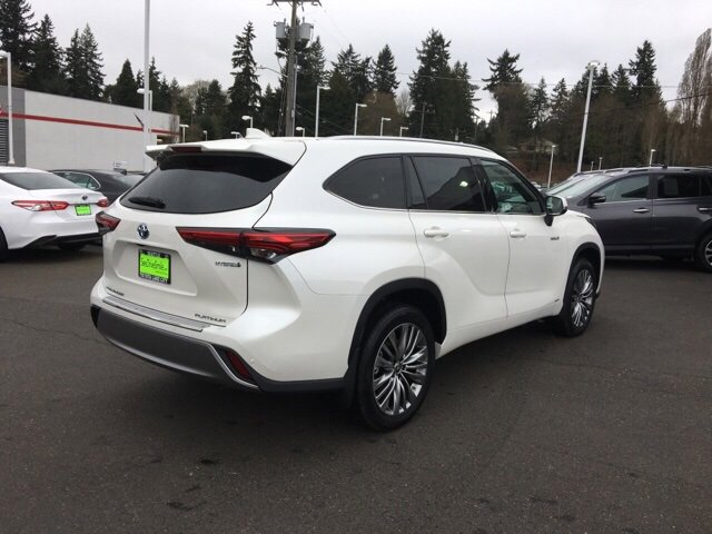 New 2020 Toyota Highlander Hybrid Limited Platinum AWD