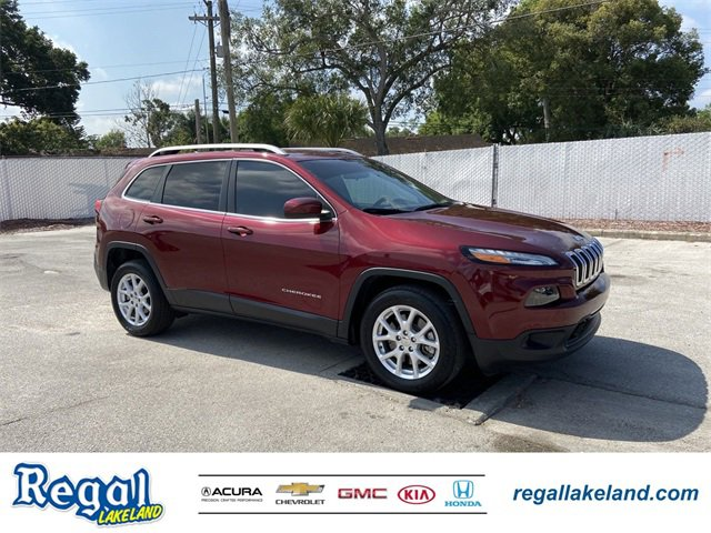 Used 2018 Jeep Cherokee in Lakeland, FL